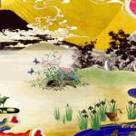 株式会社セラク・日本画法を用いたアートワークのウェブデザイン