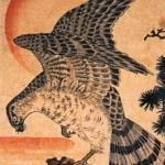 縦長のデザインを作る時の参考になる歌川国芳の掛物絵&中短冊14枚