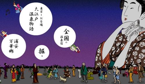 東京お台場大江戸温泉物語