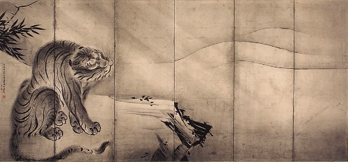 長谷川等伯 龍虎図2
