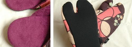 足袋スリッパ2